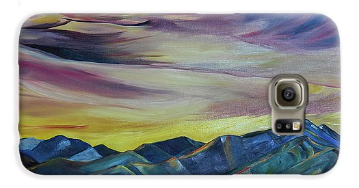 Bridger Mountains, Sunise - Phone Case