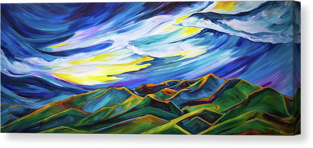 Bridger Ridge - Canvas Print