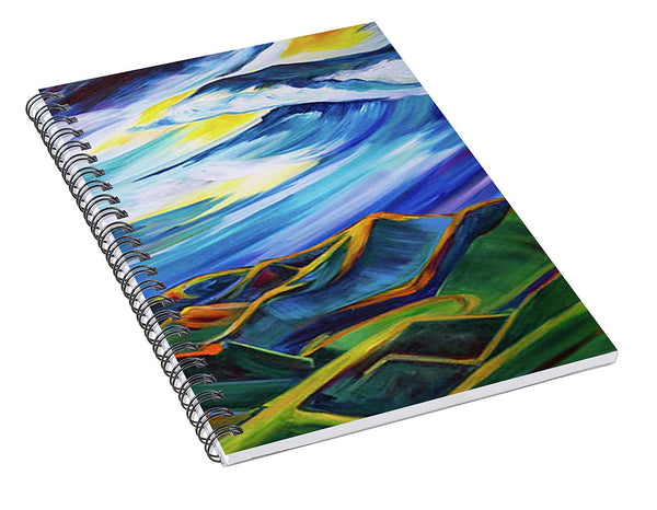 Bridger Ridge - Spiral Notebook