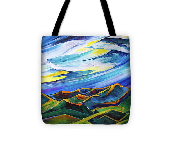 Bridger Ridge - Tote Bag
