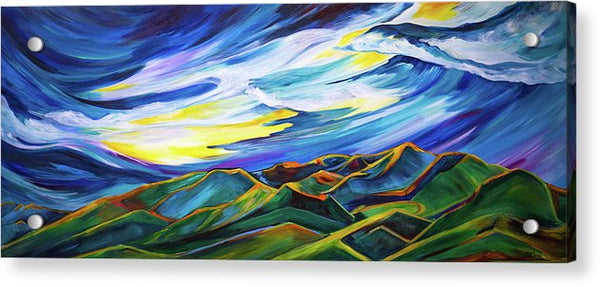 Bridger Ridge - Acrylic Print
