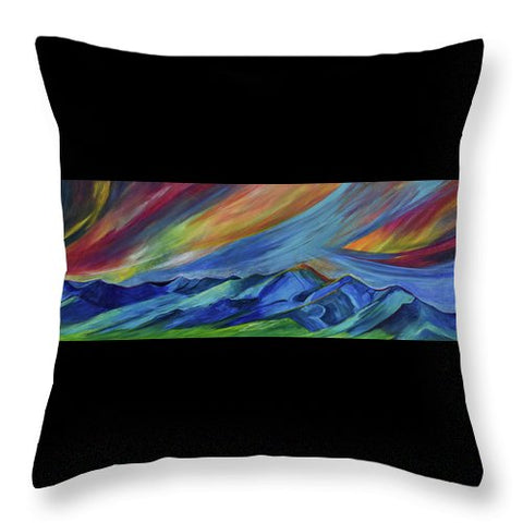 Bridger Sunrise - Throw Pillow