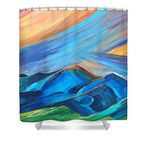 Bridger Sunset - Shower Curtain