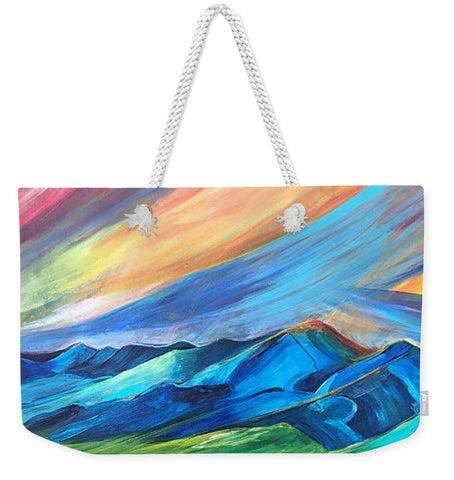 Bridger Sunset - Weekender Tote Bag
