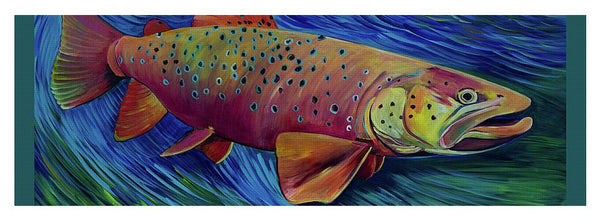 Brown Trout - Yoga Mat