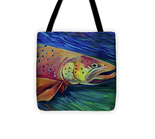 Brown Trout - Tote Bag