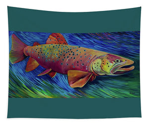Brown Trout - Tapestry