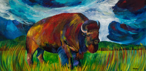 McGree_Bison Mural 24.48