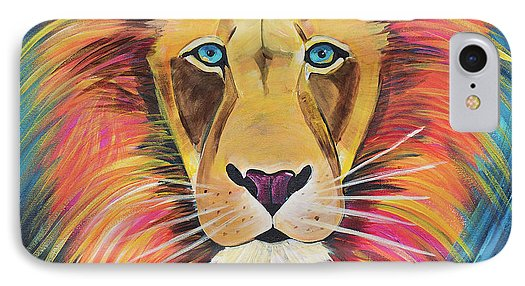Fierce Lion - Phone Case