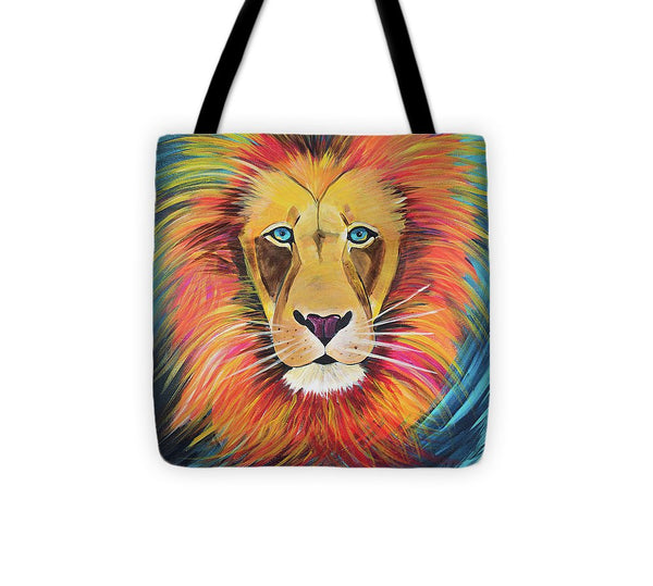 Fierce Lion - Tote Bag