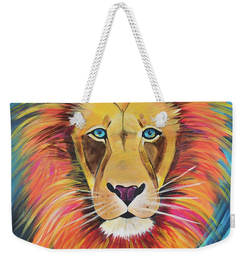 Fierce Lion - Weekender Tote Bag