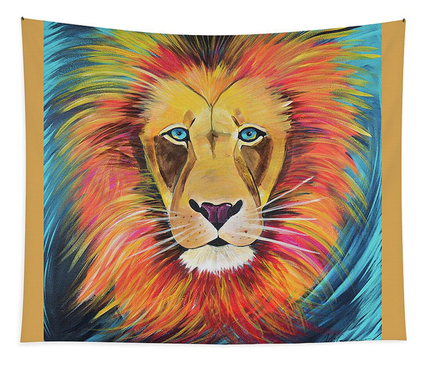 Fierce Lion - Tapestry