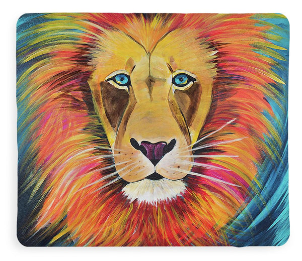 Fierce Lion - Blanket