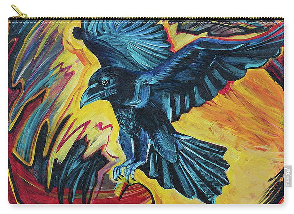 Fierce Raven - Carry-All Pouch