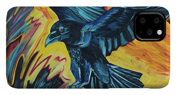 Fierce Raven - Phone Case