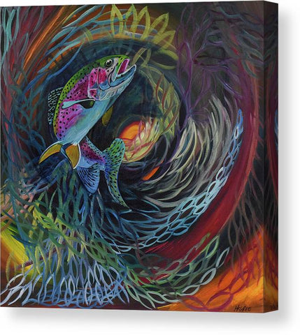 Fish Dance - Canvas Print