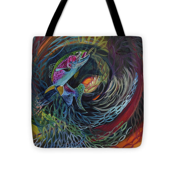 Fish Dance - Tote Bag
