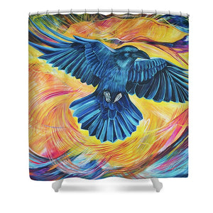 Flight - Shower Curtain