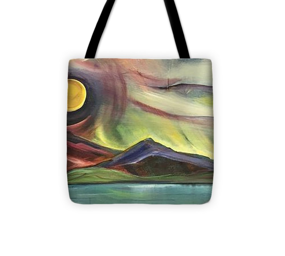 Full Montana Moon - Tote Bag