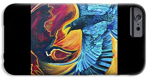 Huginn-Thought - Phone Case