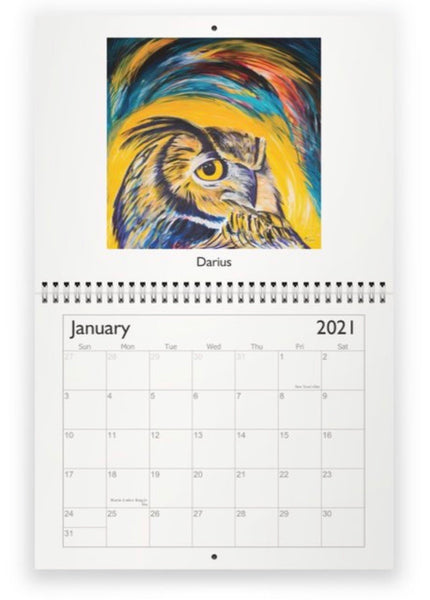 It's almost 2021!!!  Wall calendars for sale!