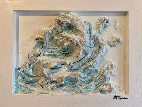 Sculpted Relief-Wave series (5)