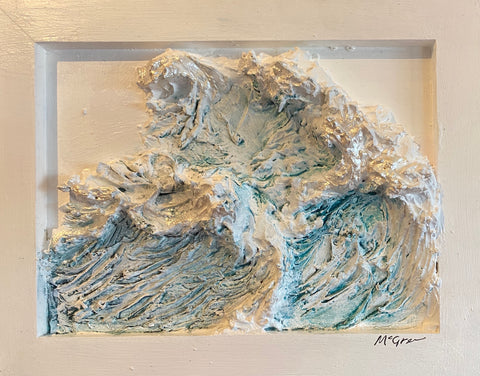 Sculpted Relief-Wave series (4)