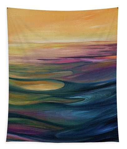 Lake Sunset - Tapestry