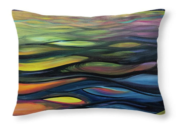 Late Morning Glow - Throw Pillow