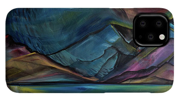 Layered Landscape Mountains 2 - Phone Case