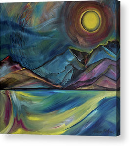 Layered Landscape Mountains 2 - Acrylic Print