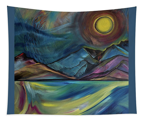 Layered Landscape Mountains 2 - Tapestry