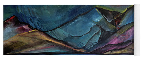 Layered Landscape Mountains 2 - Yoga Mat