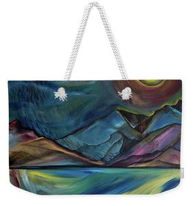 Layered Landscape Mountains 2 - Weekender Tote Bag
