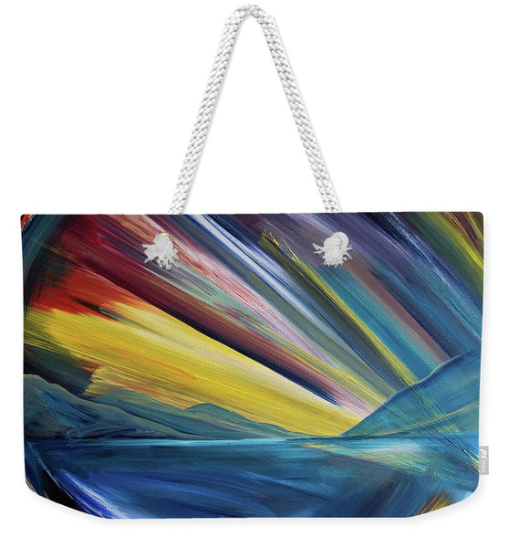 Layered Landscape Mountains 4 - Weekender Tote Bag