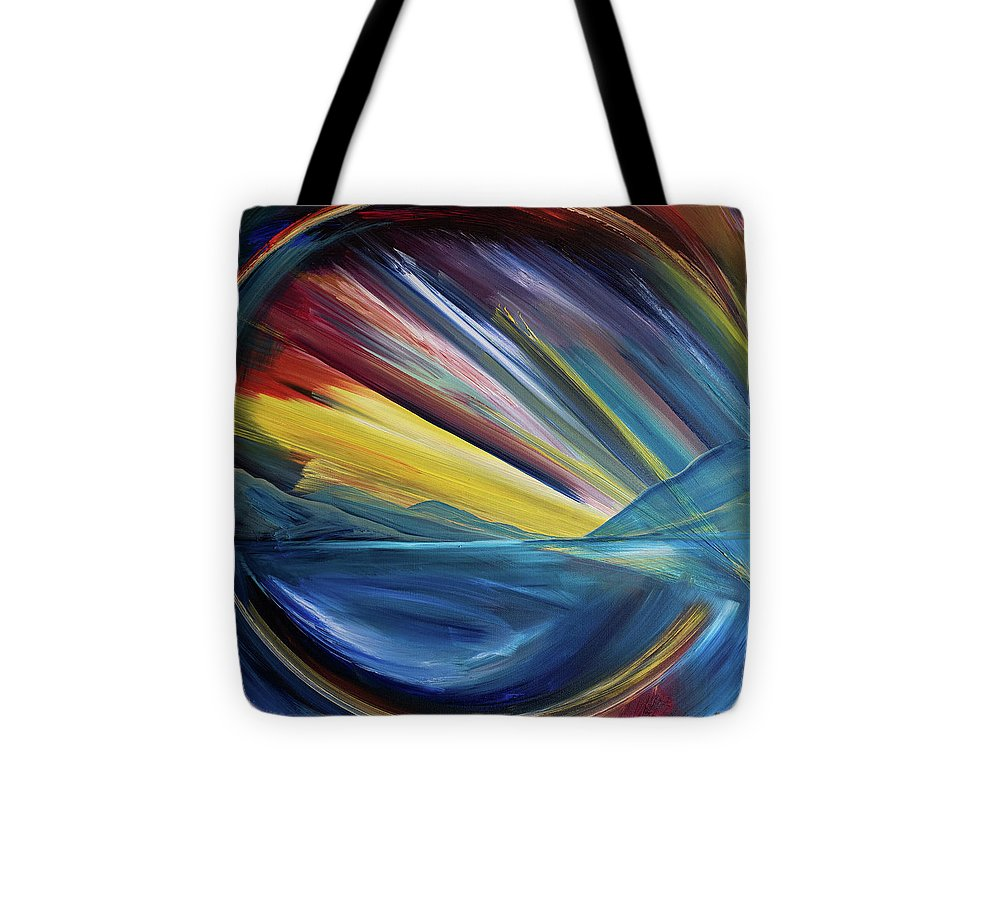 Layered Landscape Mountains 4 - Tote Bag