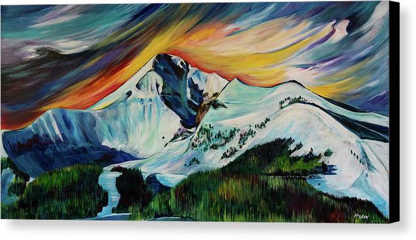 Lone Peak - Canvas Print