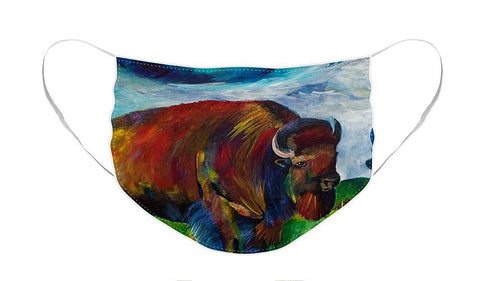 Montana Bison - Face Mask