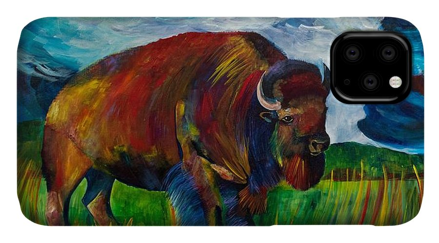 Montana Bison - Phone Case