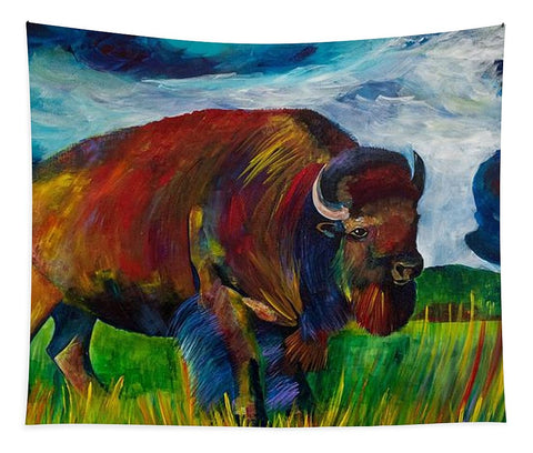 Montana Bison - Tapestry