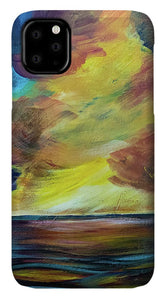 Montana Lake Storm - Phone Case