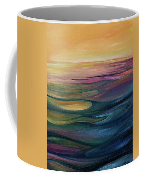 Montana Lake Sunset - Mug