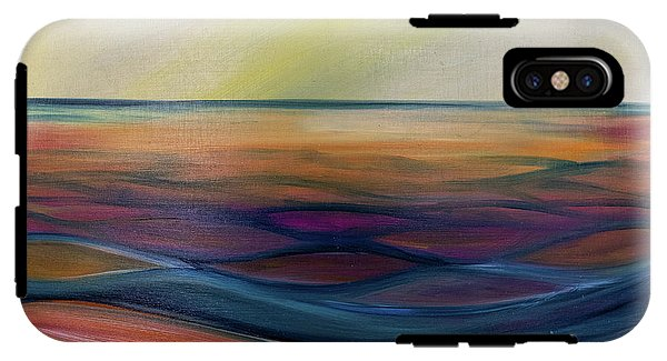 Montana Lake Sunset - Phone Case