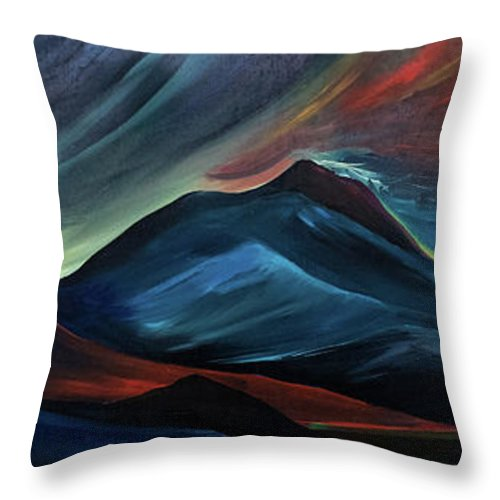 Montana Storm - Throw Pillow