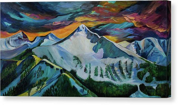 Mount Blackmore - Canvas Print