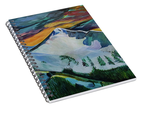 Mount Blackmore - Spiral Notebook