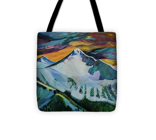 Mount Blackmore - Tote Bag