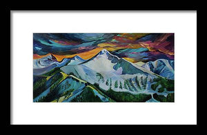 Mount Blackmore - Framed Print