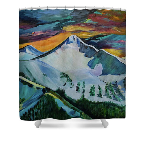Mount Blackmore - Shower Curtain