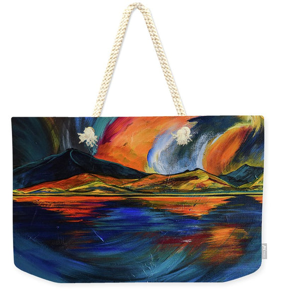Mountain Reflections   - Weekender Tote Bag